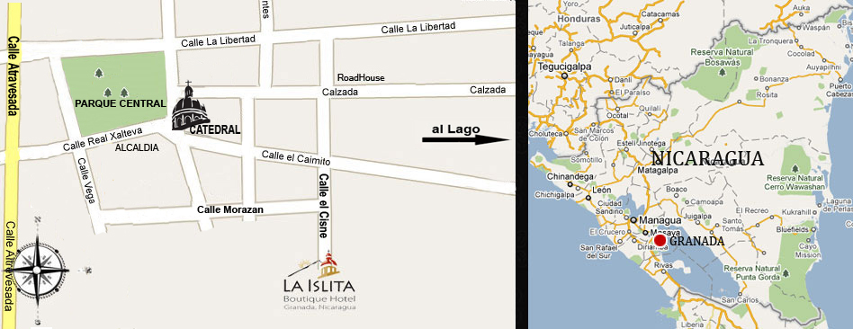 La Islita Boutique Hotel Map